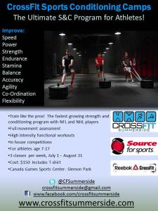CrossFit Sports Conditioning Camps